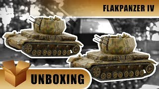 Bolt Action Unboxing: Flakpanzer IV Wirbelwind