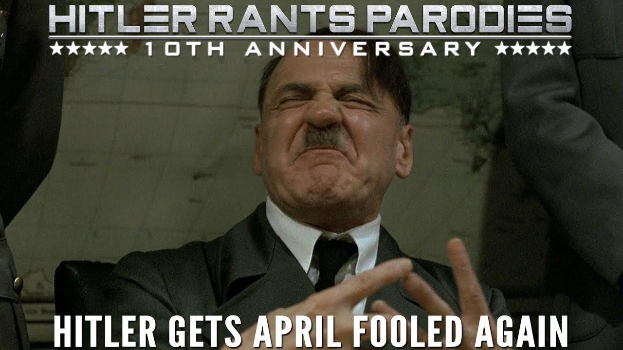Hitler gets April Fooled again