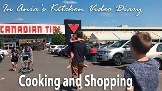 Ania's Video Diary - Cooking and Shopping - Daily Vlog