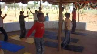 Yoga class by Prashant
