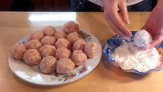 тефтели с подливкой, как в детстве  - быстро, просто и вкусно.  Источник: km-doma.ru