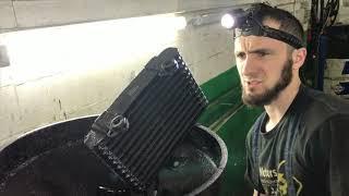 Течь радиатора охлаждения трансмиссии Митсубиси Аутлендер.