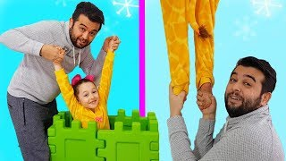 Öykü's Magic Toy Basket - Funny Kids Video
