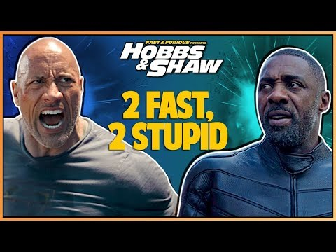 HOBBS AND SHAW FINAL TRAILER REACTION - Double Toasted Reviews