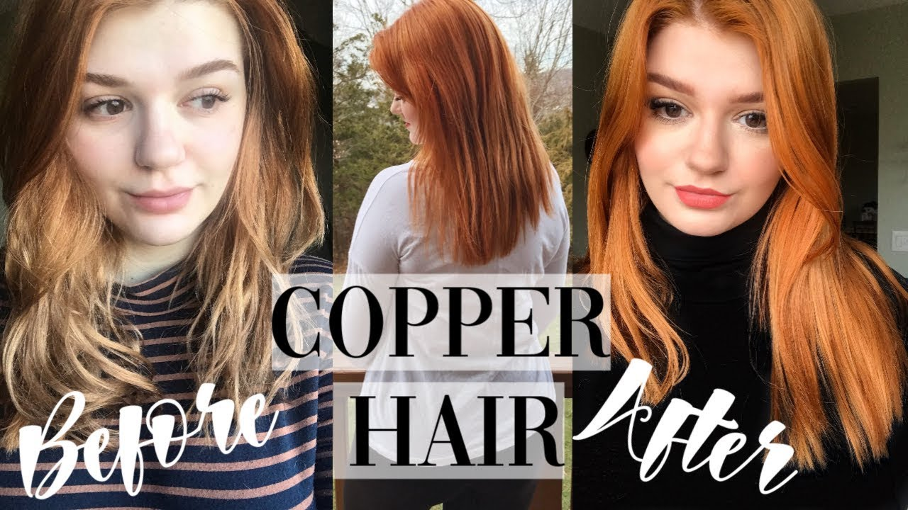 How To Dye Your Hair Copper With Henna My Henna Recipe Youtube