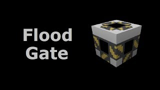 Flood Gate (Tekkit/Feed The Beast) - Minecraft In Minutes