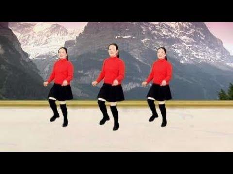 初学时尚广场舞《流泪的情人》舞步优美欢快,太美了!
