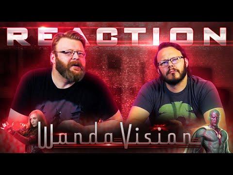 WandaVision | Official Trailer REACTION!!