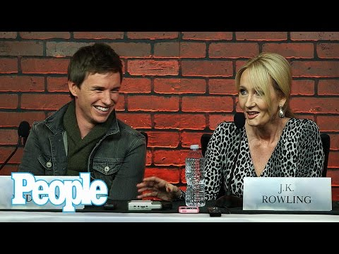 Fantastic Beasts Interview: J.K. Rowling, Eddie Redmayne, Ezra Miller & Cast | People