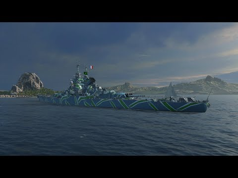 World Of Warships French Battleship République Review