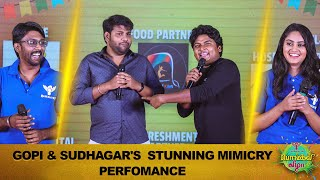 Gopi And Sudhagar's Stunning Mimicry Performance | Arun Recreates Morattu Single Moments