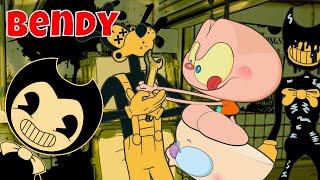 Mongo e Drongo em Bendy and the Ink machine - Capítulo 1 - desenho animado