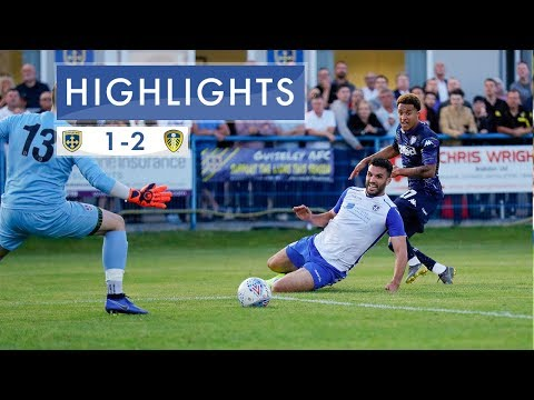 Pre-season highlights: Guiseley 1-2 Leeds United