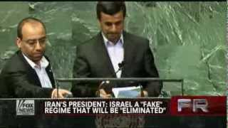 Iran : Mahmoud Ahmadinejad says Israel will be