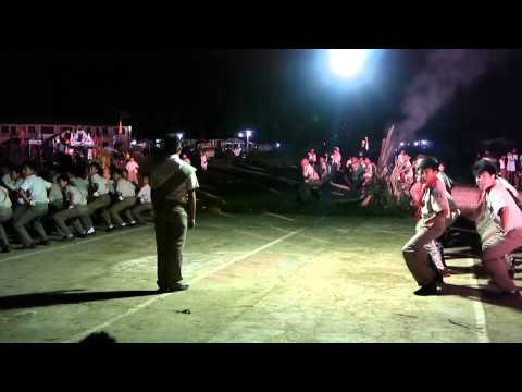 CEBU PROVINCE : BSP AREA 7 ENCAMPMENT 2014 :SRNHS - SPARTA'S CAMP FIRE PRESENTATION