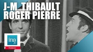 "Roger Pierre et Jean-Marc Thibault ""Cyrano à la Peter Cheney"" - Archive INA"