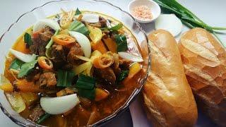 Nấu Bò Kho thơm ngon đơn giản tại nhà - Món Ăn Ngon