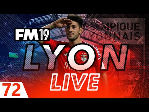 Football Manager 2019 | Lyon Live #72: Benfica At Home #FM19