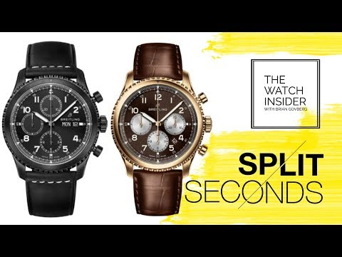 Split Seconds: The Breitling Navitimer 8 Collection
