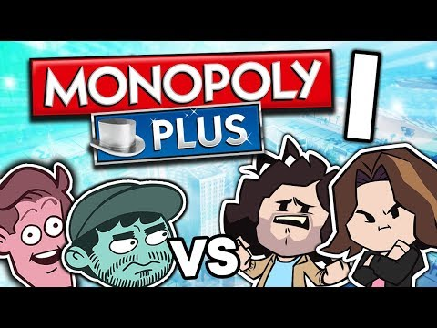 Monopoly VS SuperMega: Friendship Energy - PART 1 - Game Grumps VS