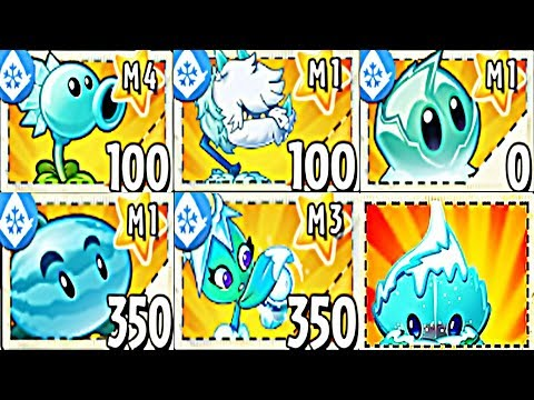 Plants vs Zombies 2 BattleZ: All Ice Plants Max Level Power-up: Gameplay 2019