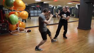 Central Wing Chun - sweep, move, kick