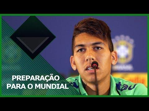 Firmino Se Apresenta à Seleção Brasileira Para Disputar A Copa Do Mundo