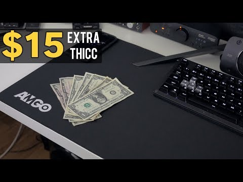 $15 EXTRA THICC XXL Mouse Pad | Amgo Review