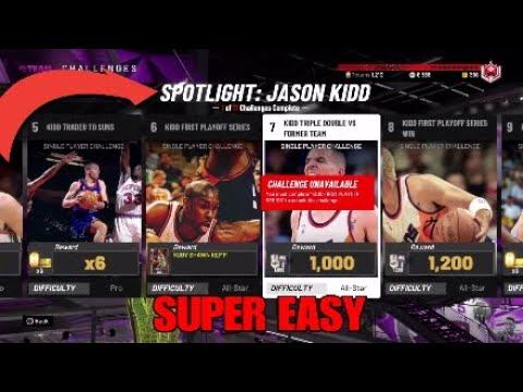 HOW TO EASILY BEAT THE JASON KIDD SPOTLIGHT CHALLENGES