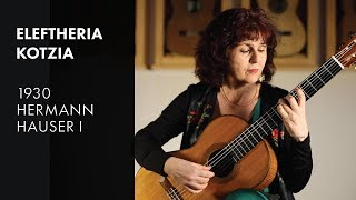 Torroba 'Arada' - Eleftheria Kotzia plays 1930 Hauser I