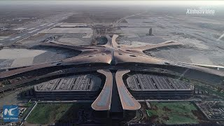 Beijing's new Daxing airport sees first full-scale test run