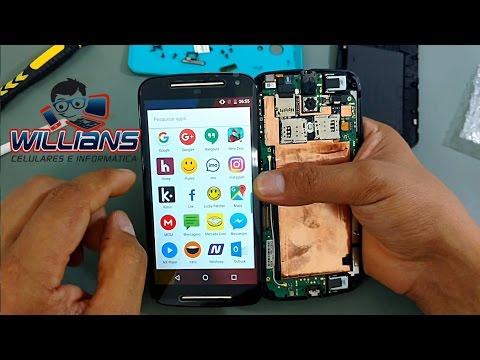 Como desmontar Motorola Moto G2 XT1068, XT1069, XT1078