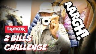 Repeat youtube video Buying Full Designer Wardrobe from TKMaxx | 2 BILLS CHALLENGE