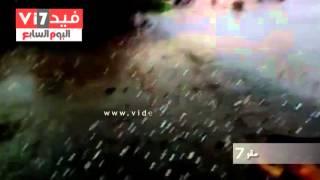 صحافة مواطن: بالفيديو.. سقوط كرات ثلجية بالحضرة فى الإسكندرية