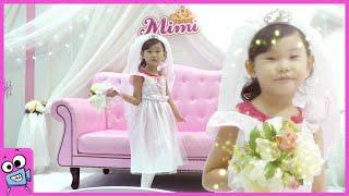 라임이의 미미 공주 드레스 코스튬 장난감 놀이 Princess dress costume| LimeTube & Toy 라임튜브