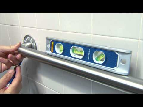 Grab Bar Installation For An Accessible Bathroom