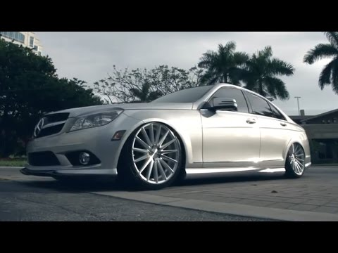Vossen Vfs 2 On Mercedes Benz C Class W204 Youtube
