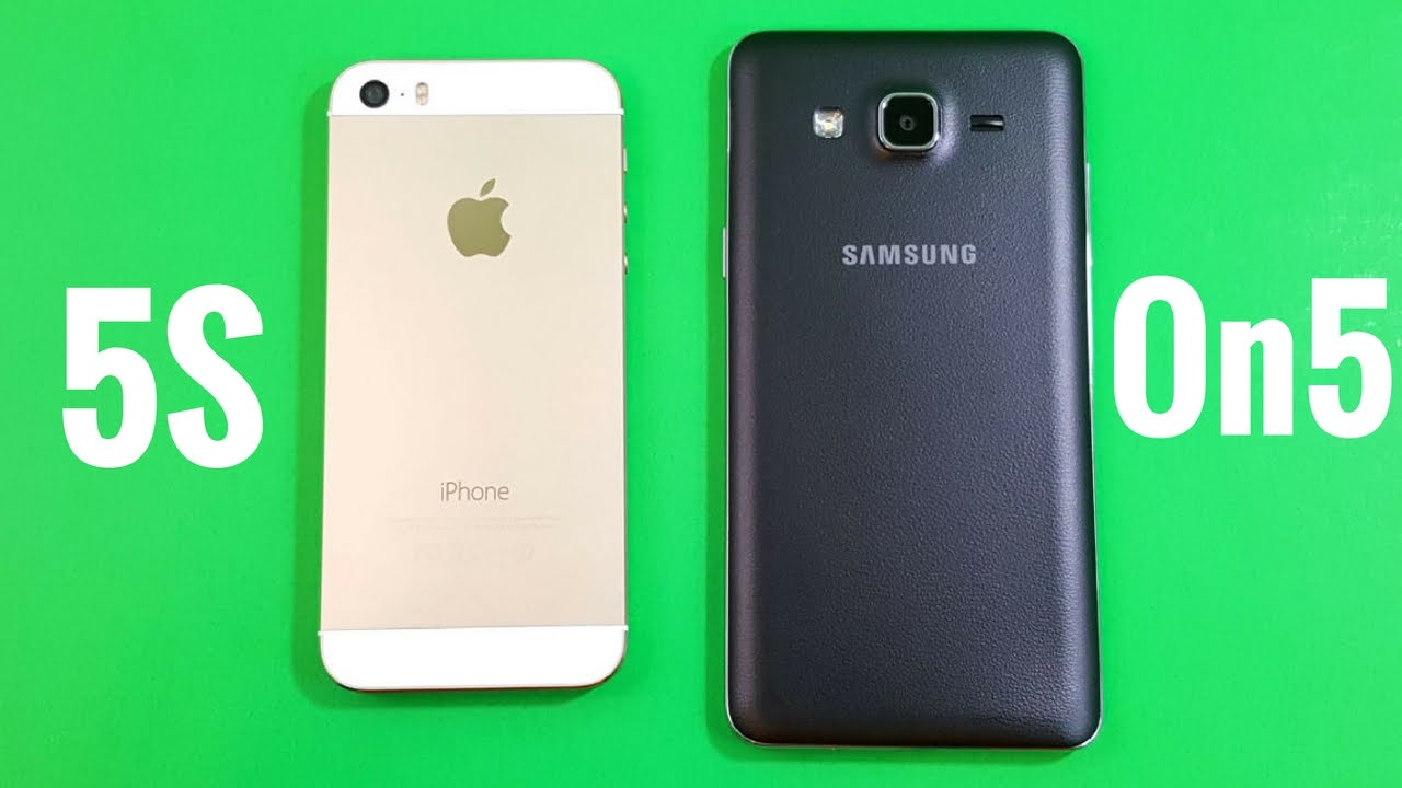 galaxy vs iphone iphone 5s vs samsung galaxy on5 2208
