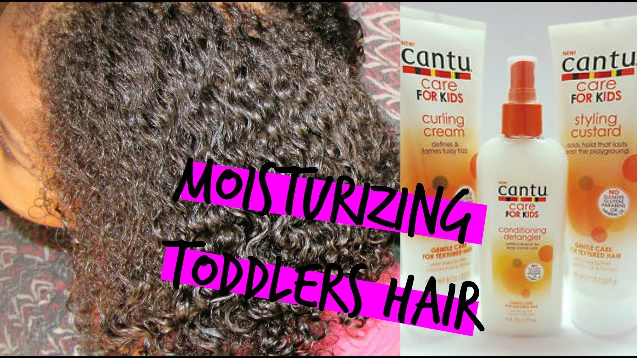 Kids Natural Hair How To Moisturize Dry Hair Fast Youtube