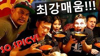 SPICIER THAN KOREAN NOODLES? NEPALESE SPICY NOODLE CHALLENGE!