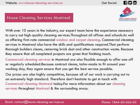 House Cleaning Services Montreal