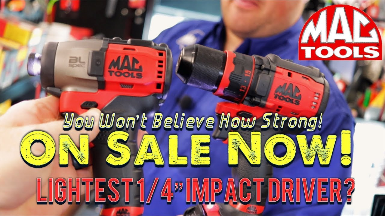 "Mac Tools: Strongest Lightest 1/4"" Impact Driver? We Show The Tools On Sale In Flyer 9"