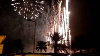 Fireworks Display 2 (Kuwait Towers) 50th National Day