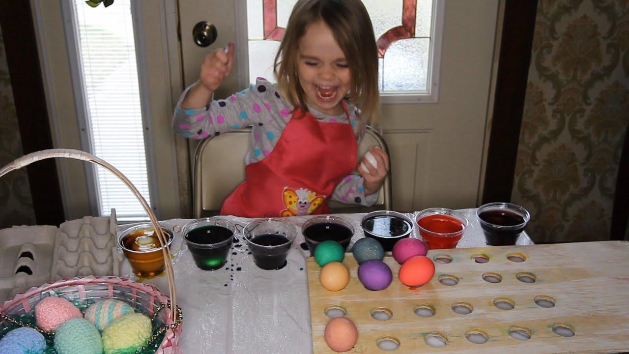 Easter Eggs Neon McCormick Dye - YouTube