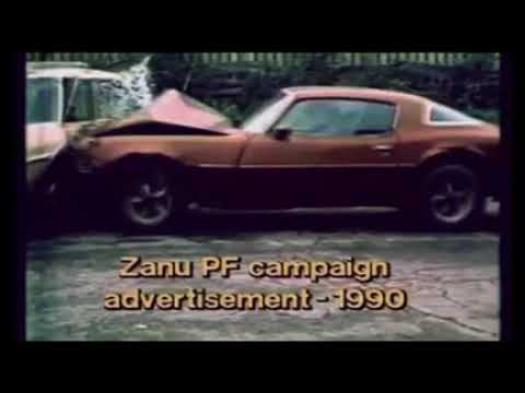 Zanu Pf 1990 election advert that failed Tekere.
