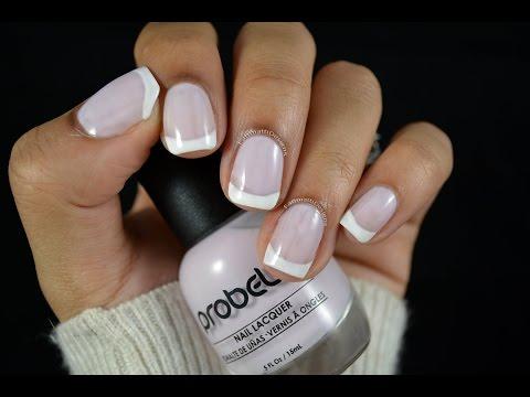 Нежно-розовый френч - фото идей дизайна ногтей - Best Маникюр