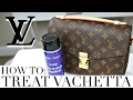 HOW TO TREAT & PROTECT VACHETTA LEATHER | Louis Vuitton Pochette Metis | Shea Whitney