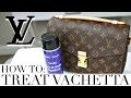 HOW TO TREAT & PROTECT VACHETTA LEATHER | Louis Vuitton Pochette Metis | Shea Whitney