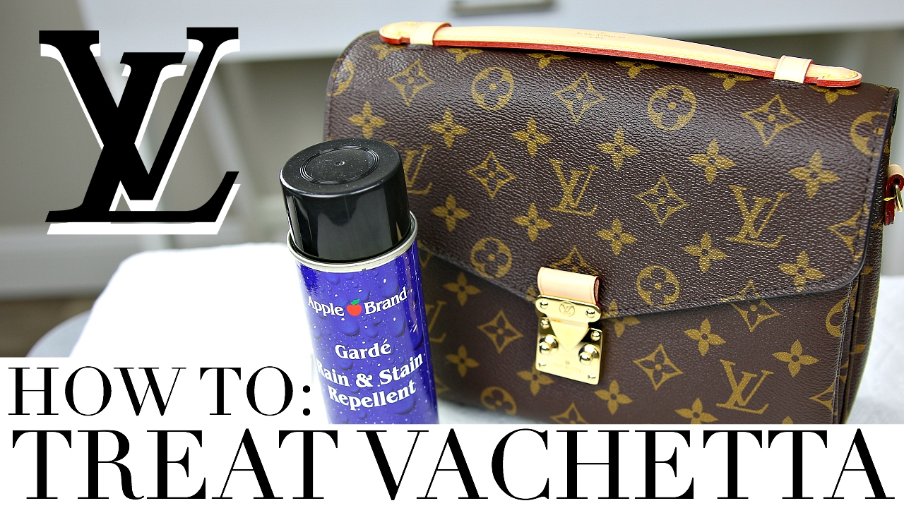 3fe8fec31 HOW TO TREAT & PROTECT VACHETTA LEATHER | Louis Vuitton Pochette Metis |  Shea Whitney