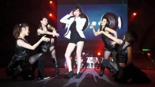 2012.1.5 新金寶尾牙 王心凌 Honey